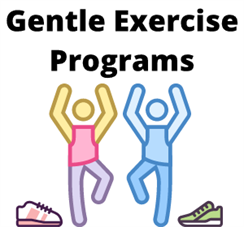Relaxation and Gentle Exercise Programs Header
