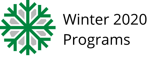 2020 Winter programs
