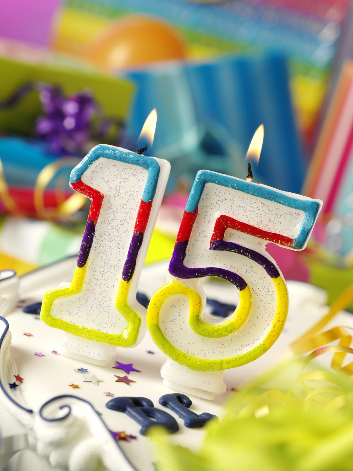 Поздравления юноши с 15 летием